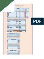 Bearing Capacity Calculator v 1.0