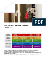 SAP Security Baseline Template V1.9