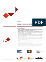 Social protection Monitoring in Uganda