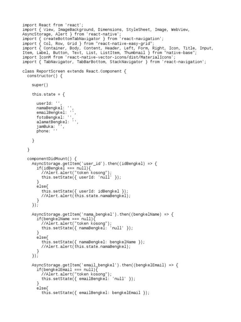 React Native User Detail Screen | Computing | Tecnología
