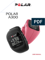 Polar A300 Manual