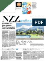 Gesamtausgabe NZZ Am Sonntag 2018-07-22