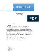 Proses Terapi Tetanus