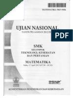 3. Soal UN Matematika SMK TKP 2013.pdf