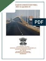 Basic Road Statistics of India