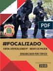 Edital Verticalizado 2018 AGENTE POLICIA FEDERAL FocusConcursos