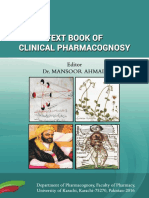 2016_Text Book of Clinical Pharmacognosy Dr. Mansoor Ahmad Karachi Uiversity