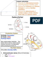 Cardiac Cycle Notes