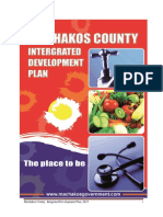 Machakos County Integrated Development Plan CIDP