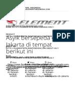 Tempat Asyik Bersepeda di Jakarta