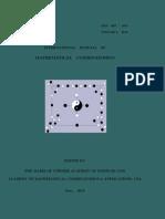 International Journal of Mathematical Combinatorics
