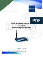 dlscrib.com_data-sheet-150m-wireless-n-adsl2-routerdt-850w.pdf