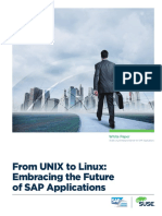 From Unix to Linux Embracing the Future of Sap Applications Wp