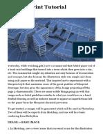 3D Blueprint Tutorial | Visualizing Architecture