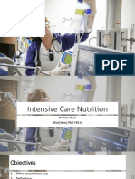 ICU Nutrition ARace