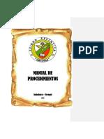 Manual de Procedimientos Ueu.- Comisión