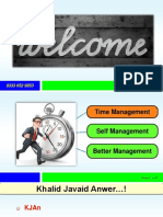 KJAN Time Management Slides Set