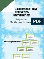 NAT 6 Reviewer for Mathematics 2015 Part 1