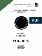 Part List Vol 3A