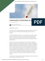 A Avaliação Ocupacional Ao Frio _ Vendrame Antonio Carlos _ Pulse _ Linkedin