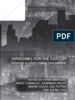 (Questioning Cities Series) Peter Marcuse-Searching for the Just City_ Debates in Urban Theory and Practice -Routledge (2009)