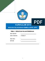 6.2. RPP Kelas VI Tema 2 Persatuan Dalam Perbedaan