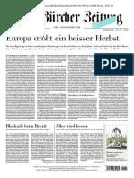 Gesamtausgabe Neue Zürcher Zeitung 2018-07-21