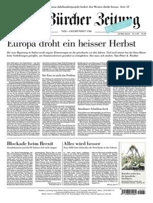 Gesamtausgabe Neue Zurcher Zeitung 2018 07 21