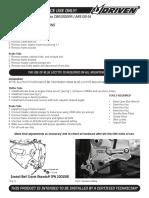 DRP 708 Honda CBR1000RR ABS 08 14 Instructions 1