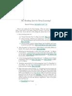 DL Reading List