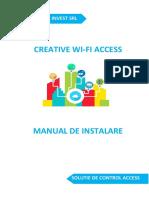 Manual CreativeWiFiAcess 1.8