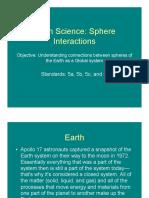 Sphere Interaction