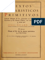 Jesus Solano S. J. - Textos eucaristicos primitivos.pdf
