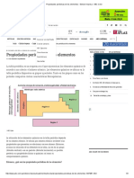 Propiedades Periódicas de Los Elementos - Edicion Impresa - ABC Color