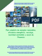 Plan Energético, Renovable, movilidad sostenible Social. Plasencia 2020-2030