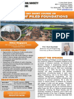 GeoSS Piled Foundations Flyer 7 Sept 2018
