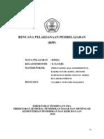 RPP Metode Ilmiah