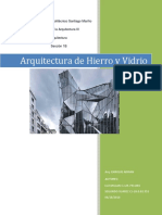Arquitectura hierro y Vidrio