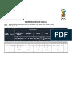 Liquidacion Complementario Curibamba Villano Marancocha Chimay Pacaybamba