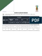 Liquidacion Complementario Orcotuna ,Manzanares Chambara Ramal Puente Las Balsas Rio Mantaro