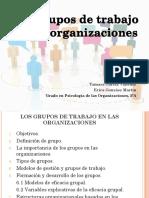 Los Grupos de Trabajo en Las Organizaciones. GRUPO a-13.Grado