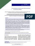 Prebotik and Antibiotik