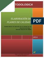 Guia Metodologica Para La Elaboracion de Planes de Calidad