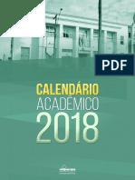 Calendário acadêmico Unipampa 2018