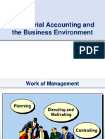 1 - Managerial Accounting Overview