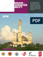 Mataram City Natural Disaster Vulnerability Profile English