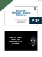 04 Evaluación Económica - Cálculo de Reservas