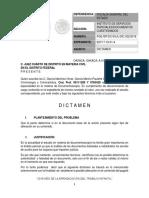 Dictamen Documentoscopía Ordinario Final