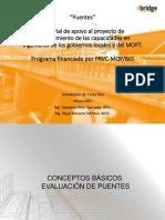 Evaluación de Puentes Ing Hugo Navarro