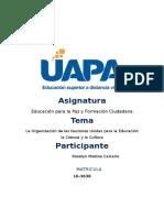 Tarea 5 de Educacion Para La Paz Roselyn
